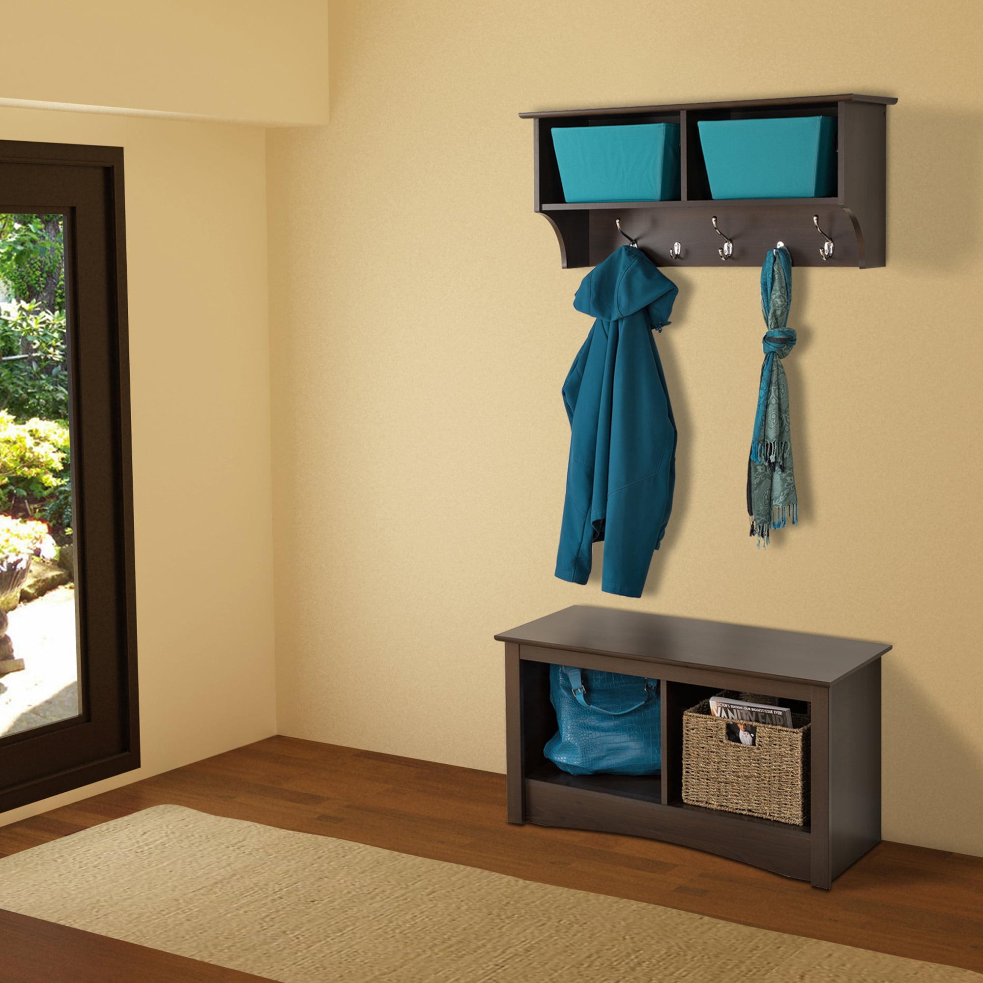 Prepac Hanging Entryway Wall Shelf, 36\