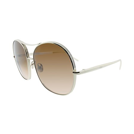 Chloe Nola CE 128S 743 61 Women's Aviator Sunglasses ()