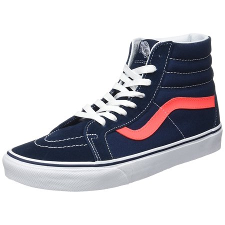 VANS - Vans Unisex Sk8-Hi Reissue Skate Shoes-Dress Blue - Walmart.com 986126943