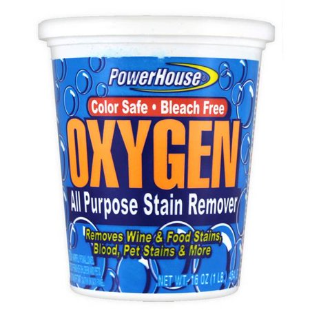 Oxygen Activated Stain Remover (Powerhouse Oxygen Stain Remover, 5 Pack)