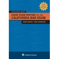 Bar Review: Essay Exam Writing for the California Bar Exam (Paperback)