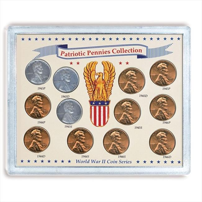 American Coin Treasures 535 Patriotic Pennies Collection