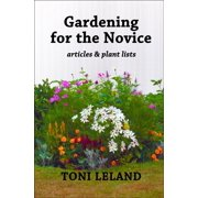 Gardening for the Novice - eBook