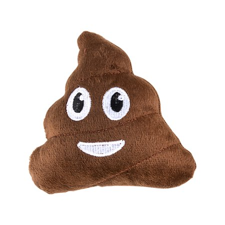 Plush Brown Smiling Face Poop Emoji Stuffed Emoticon Toy 5