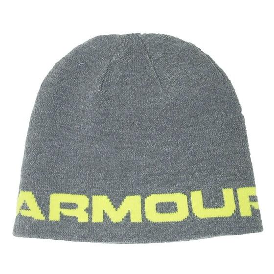 Under Armour - Under Armour Mens Wordmark Beanie Hat - Walmart.com 5647659cbe34