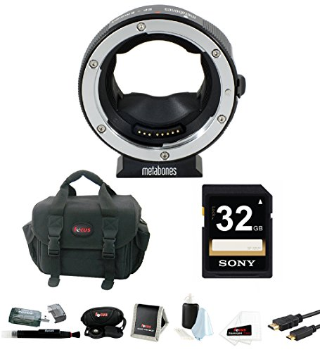 Metabones Canon EF Lens to Sony NEX Camera Lens Mount Adapter, Mark IV with Came