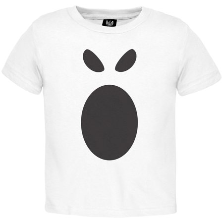 Halloween Ghost Face 1 Toddler Costume T-Shirt (Halloween Zipper Face Uk)