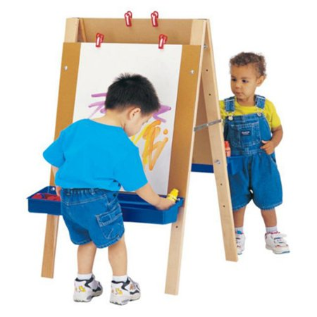 Maple Easels - Jonti-Craft Toddler Adjustable Childrens Easel