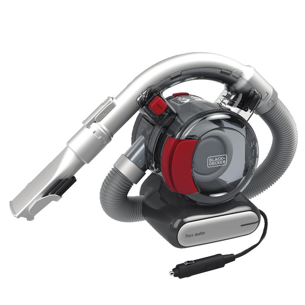 BLACK+DECKER 12V Car Flex Handheld Vacuum, BDH1200FVAV