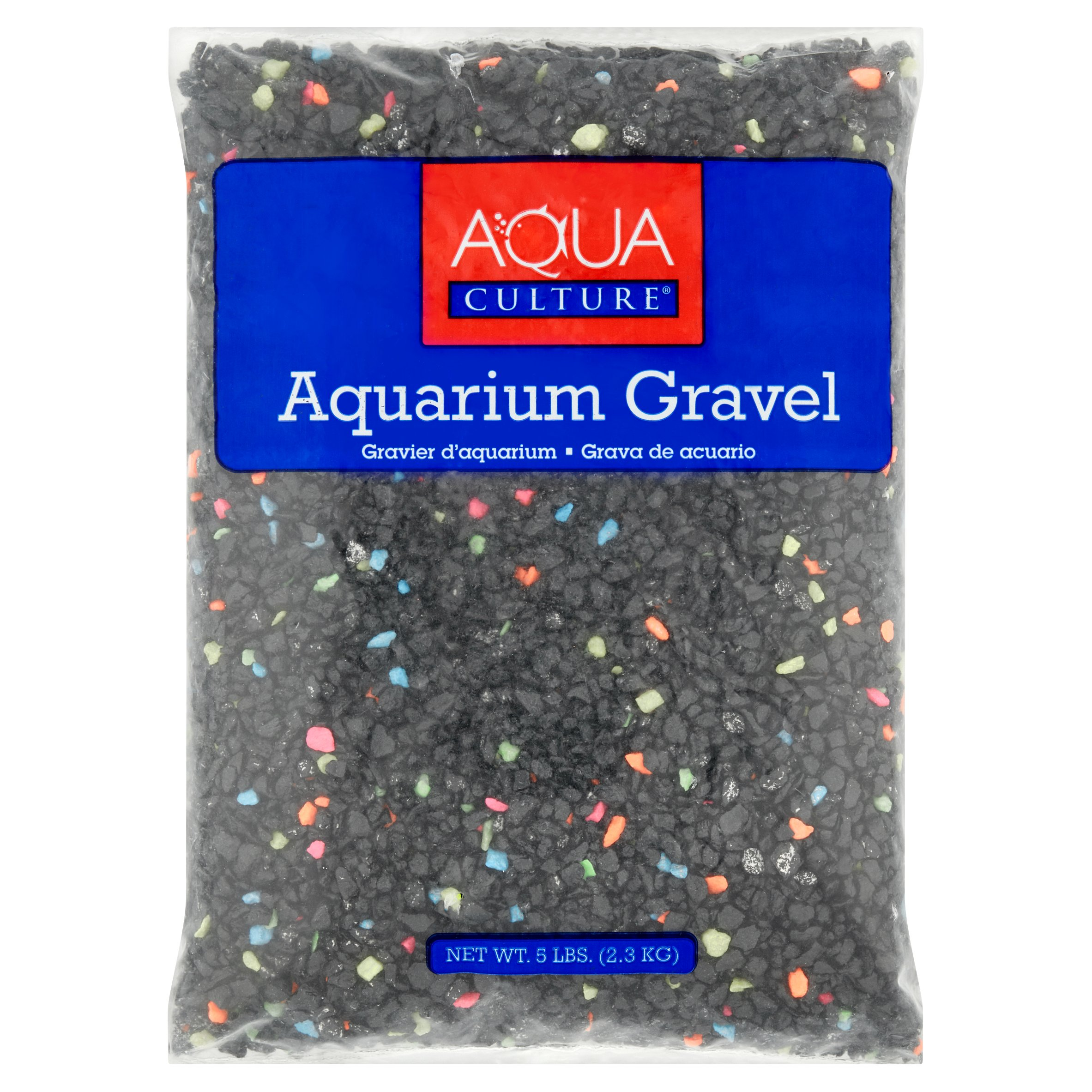 Aqua Culture Neon Starry Night Aquarium Gravel, 5 lb capacity