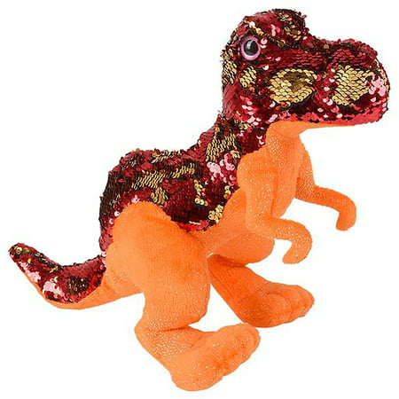 Mermaid Sequined T Rex Plush Stuffed Animal 15 Walmart Com