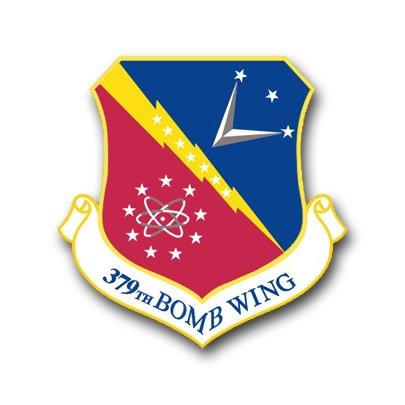 3.8 Inch Air Force 379th Bomb Wing Vinyl Transfer Decal