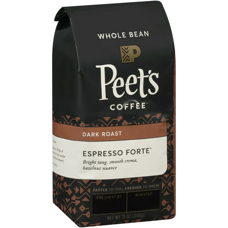 Peet's Coffee® Espresso Forte Dark Roast Whole Bean Coffee 12 oz. Bag