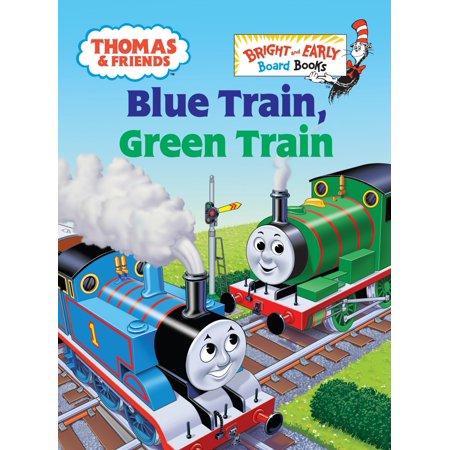 Thomas & Friends: Blue Train, Green Train (Thomas & Friends) (Board Book) (Thomas The Train Read Along Books)