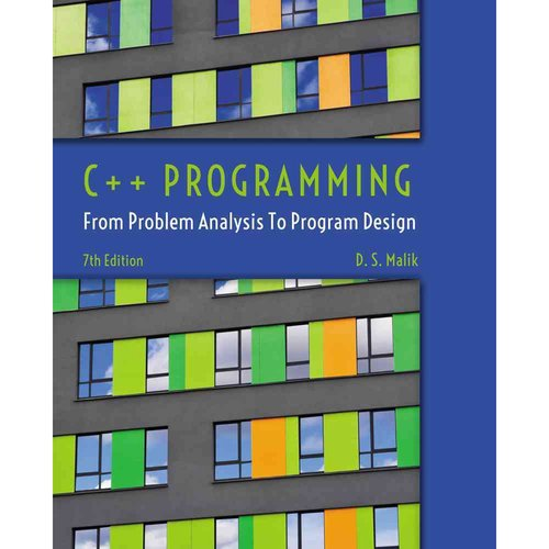 C   Programming: From Problem Analysis to Program Design