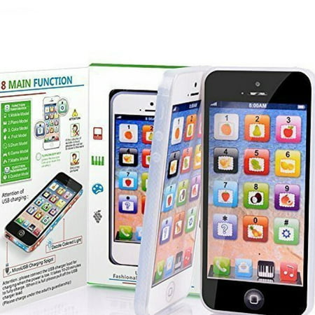 Kids Children Mobile Phone Learning Sounds Touch Screen Function