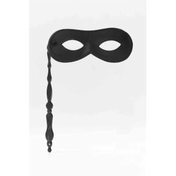 MASK ON STICK-BLACK](Black Morph Mask)