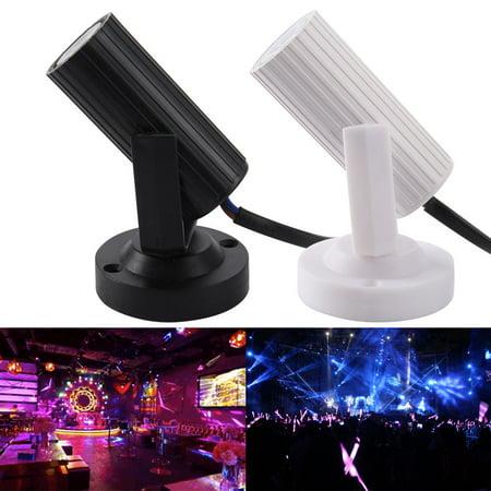 1W 85-263V Mini LED Spotlight White Shell Jewelry Light Cabinet Ceiling Spot Flood Lamp (Offshoot Shaun White)