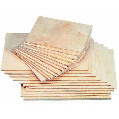 American Easel Baltic Birch Veneer Smooth Block Printing Panel, Multiple Sizes, Pack of 12
