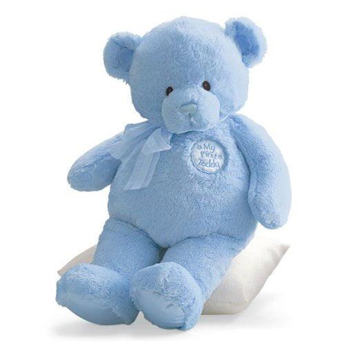 """Gund My First Teddy Bear Stuffed Blue Bear 30"""" by"""