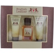 English Leather 3 Pc. Gift Set ( Body Splash 3.4 Oz + After Shave Balm 2 Oz + Body Wash 2.5 Oz )