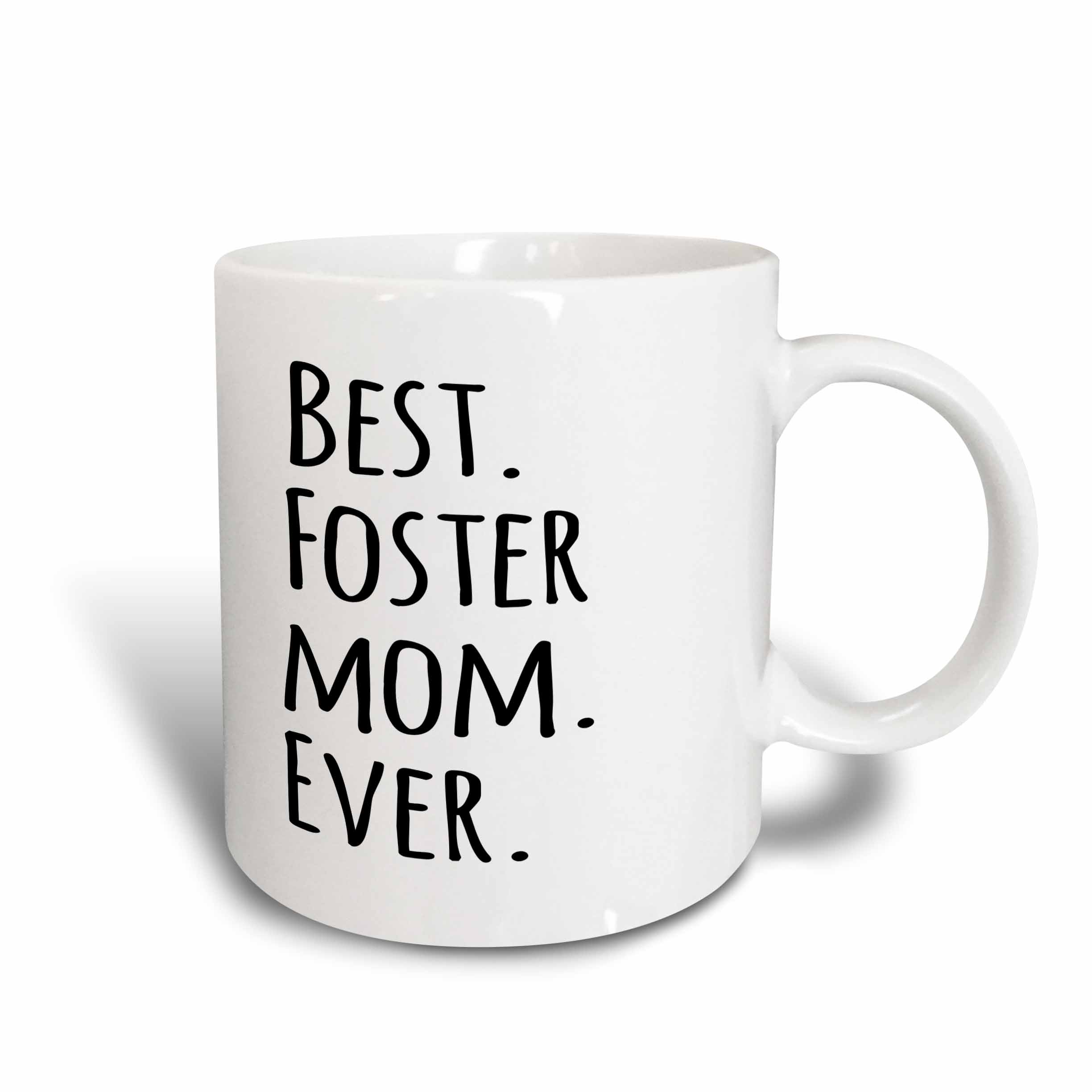 3d Rose 3drose Best Foster Mom Ever  -  Foster Family Gifts  -  Good For