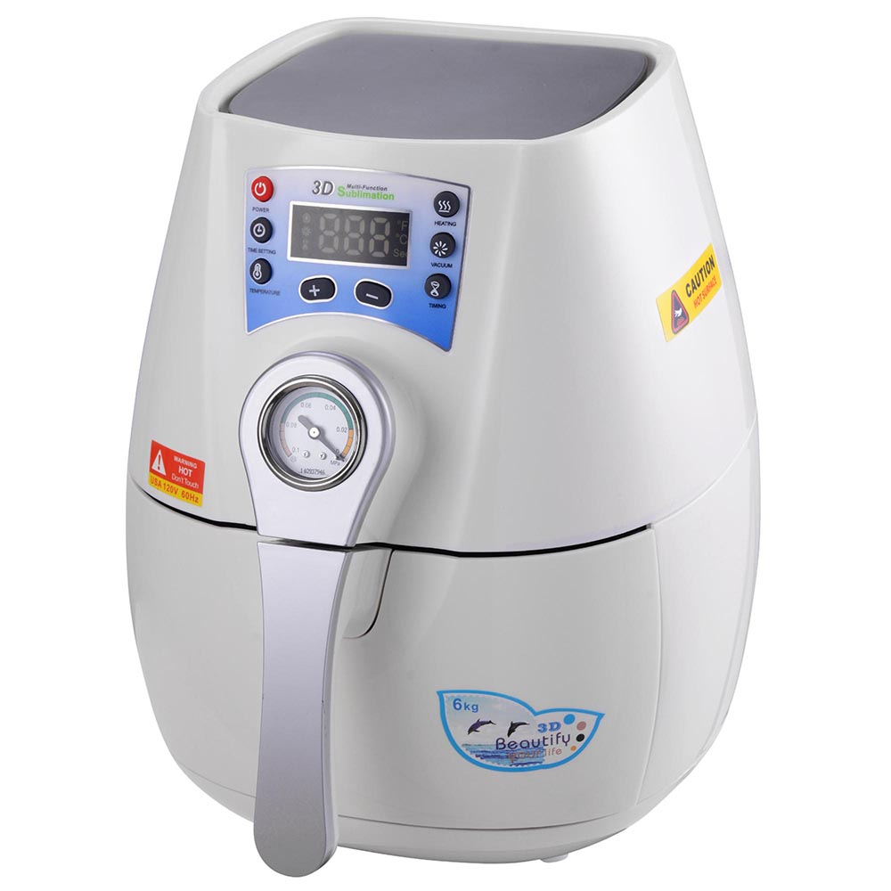 3d vacuum sublimation machine reviews