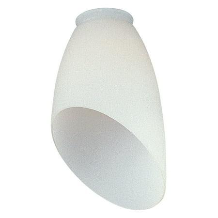 - Monte Carlo Ceiling Fan Glass Cone Shade