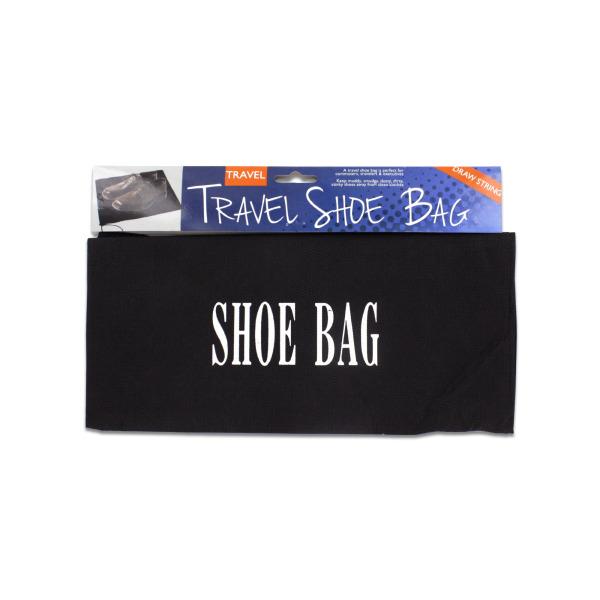 Bulk Buys Drawstring Travel Shoe Bag (Pack Of 24) by Bulk Buys