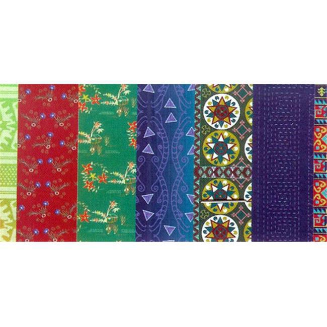 ROYLCO  INC.  R-15280 Roylco Textile Craft Papers Asian