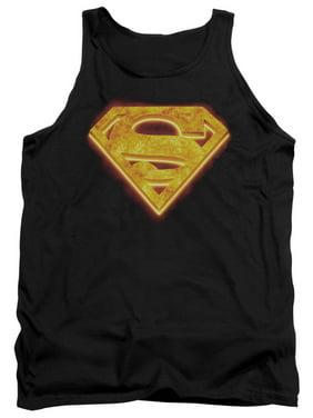 8cfc5228cf4bd3 Product Image Superman DC Comics Hot Steel Shield Adult Tank Top Shirt