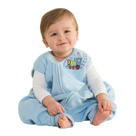 Early Walker SleepSack Micro Fleece Wearable Blanket, Blue, X-Large (Discontinued by Manufacturer), 100% polyester By (Sleepsack Fleece)