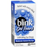 blink Gel Tears Lubricating Eye Drops 10 mL (Pack of 3)