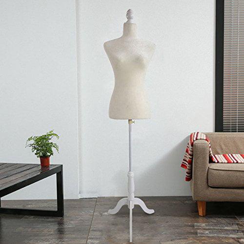 Ktaxon Female Full Body Realistic Mannequin Display Head Turns Dress Form w/Base