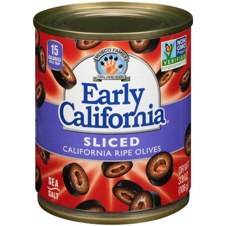 Early California Sliced Ripe Olives - 3.8oz