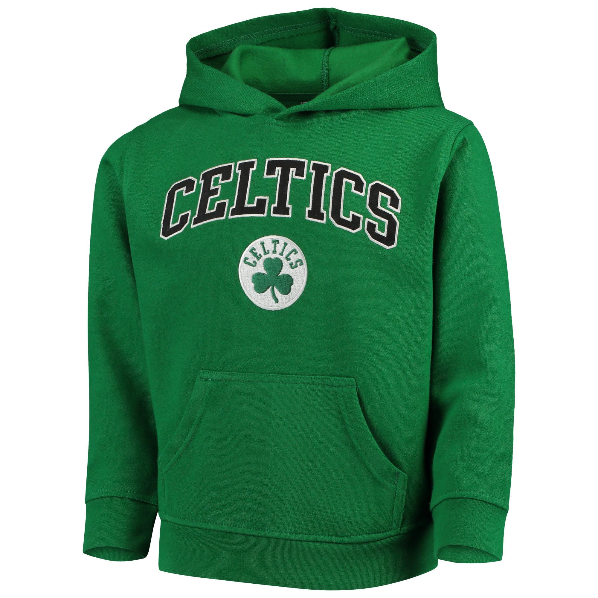 Youth Kelly Green Boston Celtics Team Fleece Pullover Hoodie