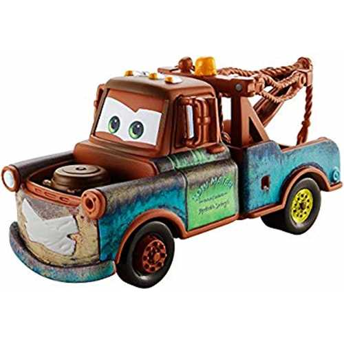 Disney Pixar Cars Super Chase Mater with Duct Tape 1:55 Scale Diecast Vehicle