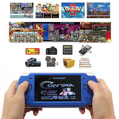 "Portable Game Console 4.3"" 32Bit 100 Games 8GB Built-In H..."