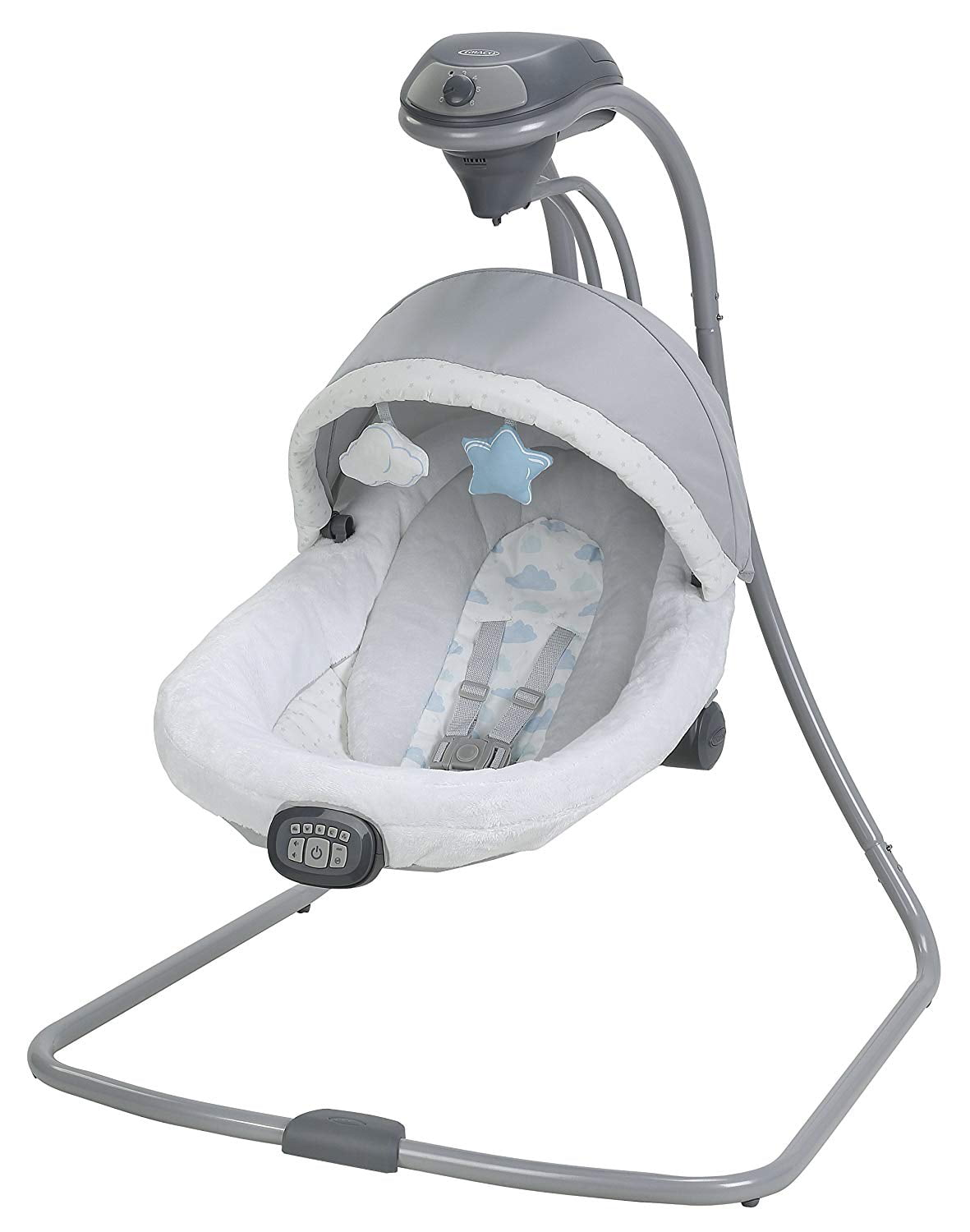 Graco Baby Oasis Swing with Soothe Surround Technology in Azure by Graco