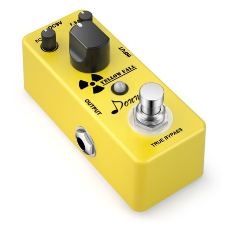 Donner Yellow Fall Vintage Pure Analog Delay Guitar Effect Pedal True - 9 Pro Analog Delay Pedal