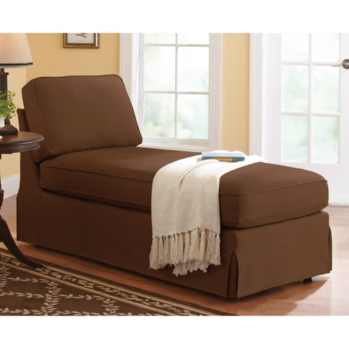 Better Homes and Gardens Slip Cover Armless Chaise, Multiple Colors