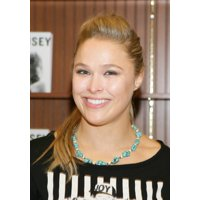 Ronda Rousey At In-Store Appearance For Olympic Medallist Ronda Rousey Booksigning For My Fight  Your Fight Stretched Canvas -  (8 x 10)