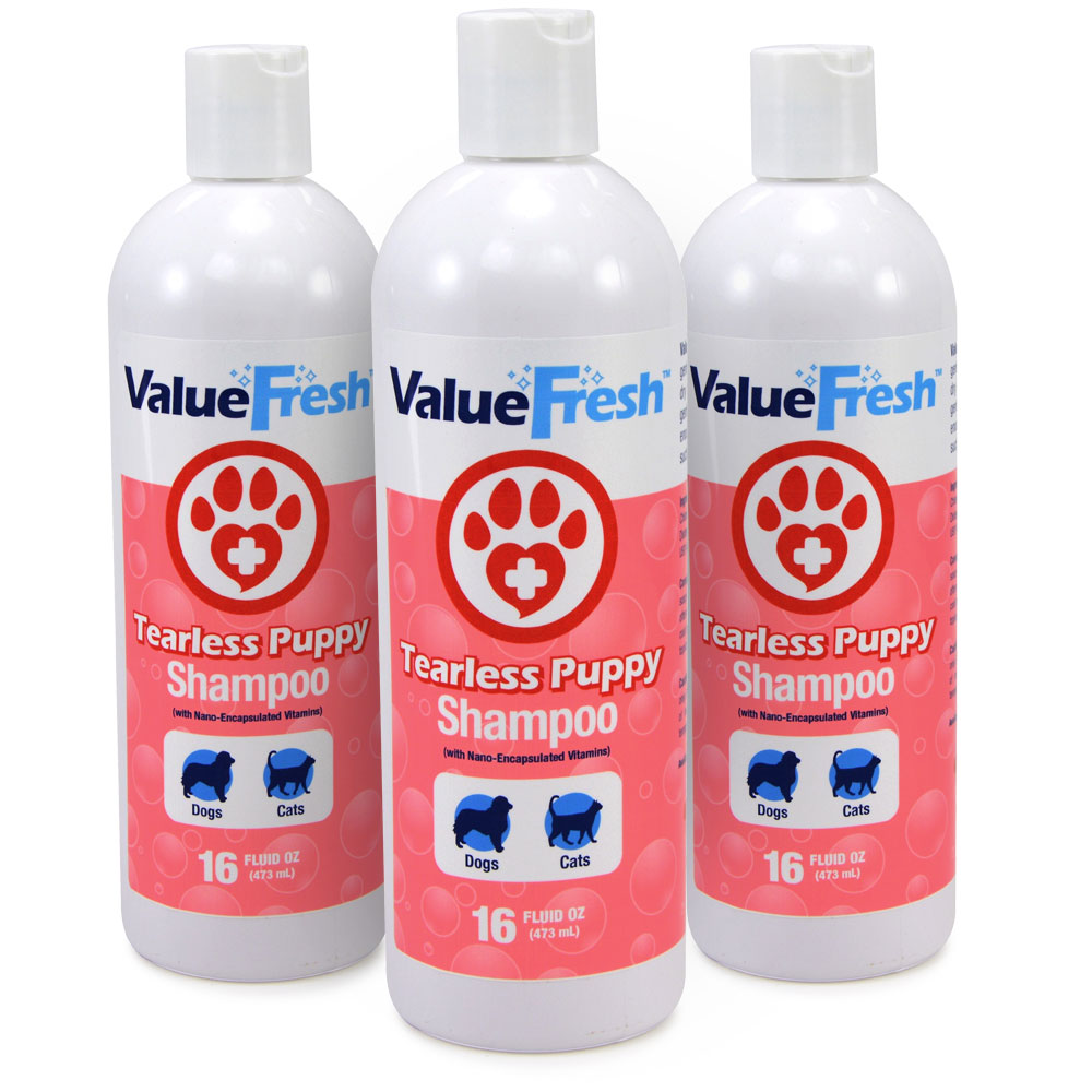 ValueFresh Tearless Puppy Shampoo, 48 Ounce by ValuePetSupplies