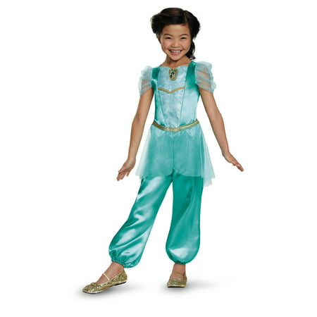 Disney Princess Jasmine Classic Girls Costume for $<!---->