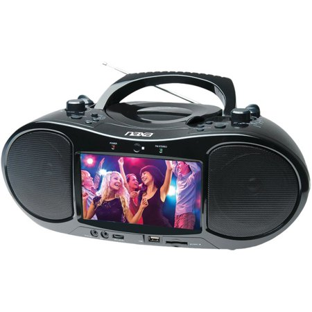 NAXA NDL-257 7″ Bluetooth(R) DVD Player