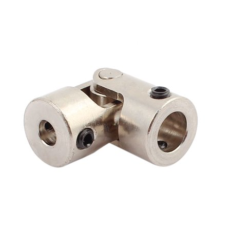 5.0mm to 8.0mm Inner Dia Rotatable Universal Steering Shaft U Joint Coupler 2pcs - image 2 of 3
