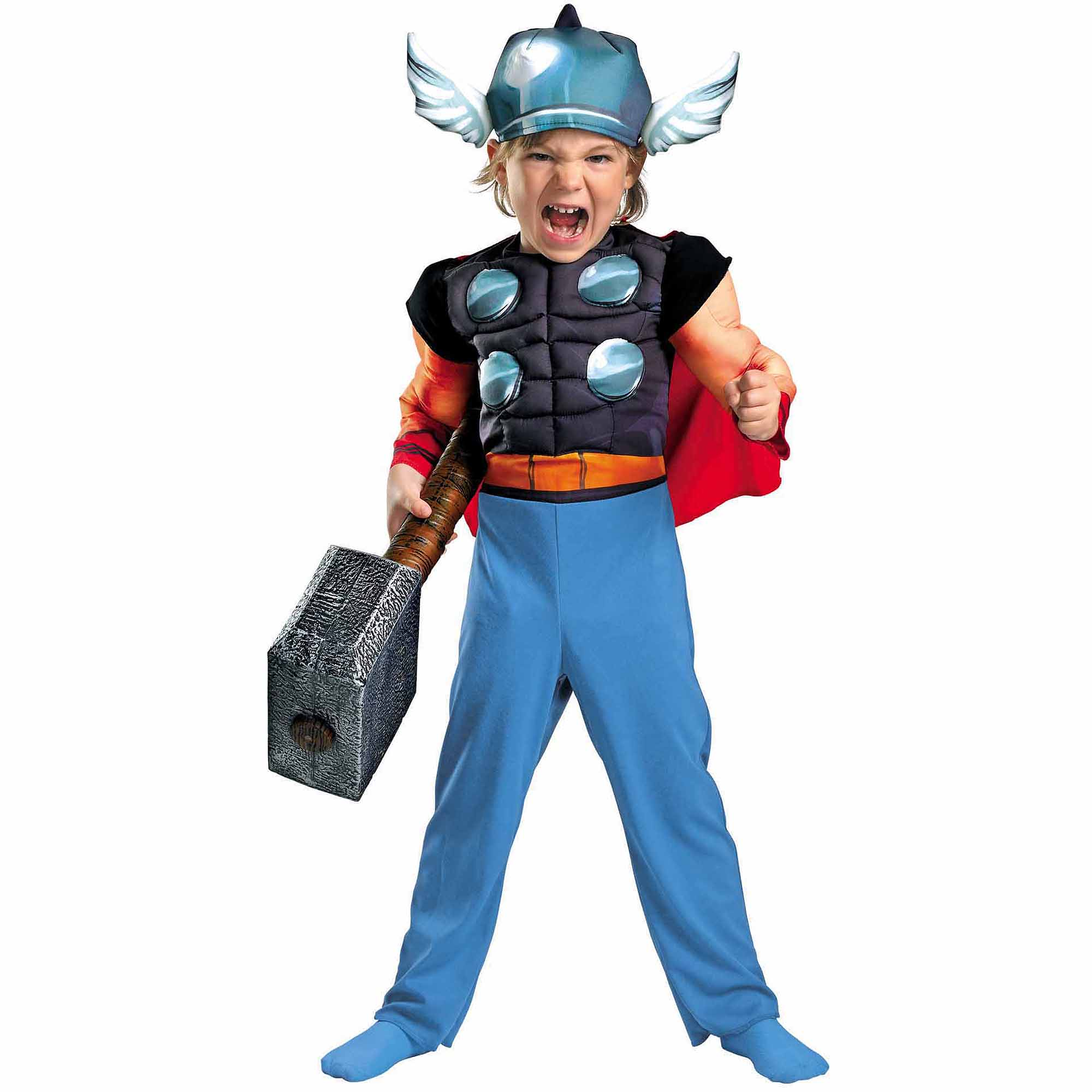 Mighty Thor Muscle Chest Toddler Costume