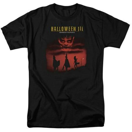 Halloween Iii - Season Of The Witch Adult Regular Fit T-Shirt - Adult Regular Fit T-Shirt / 5XL / Black - Halloween 3 Season Of The Witch T-shirt