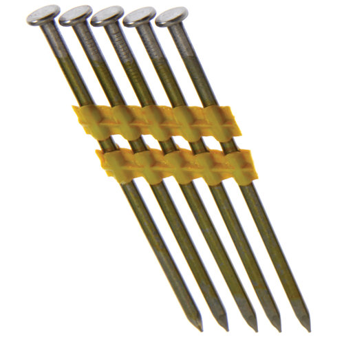 "Grip Rite GR024 3-1/4"" x .131"" x 21-Degree CTD Smooth Shank Nail, 4,000-Count"
