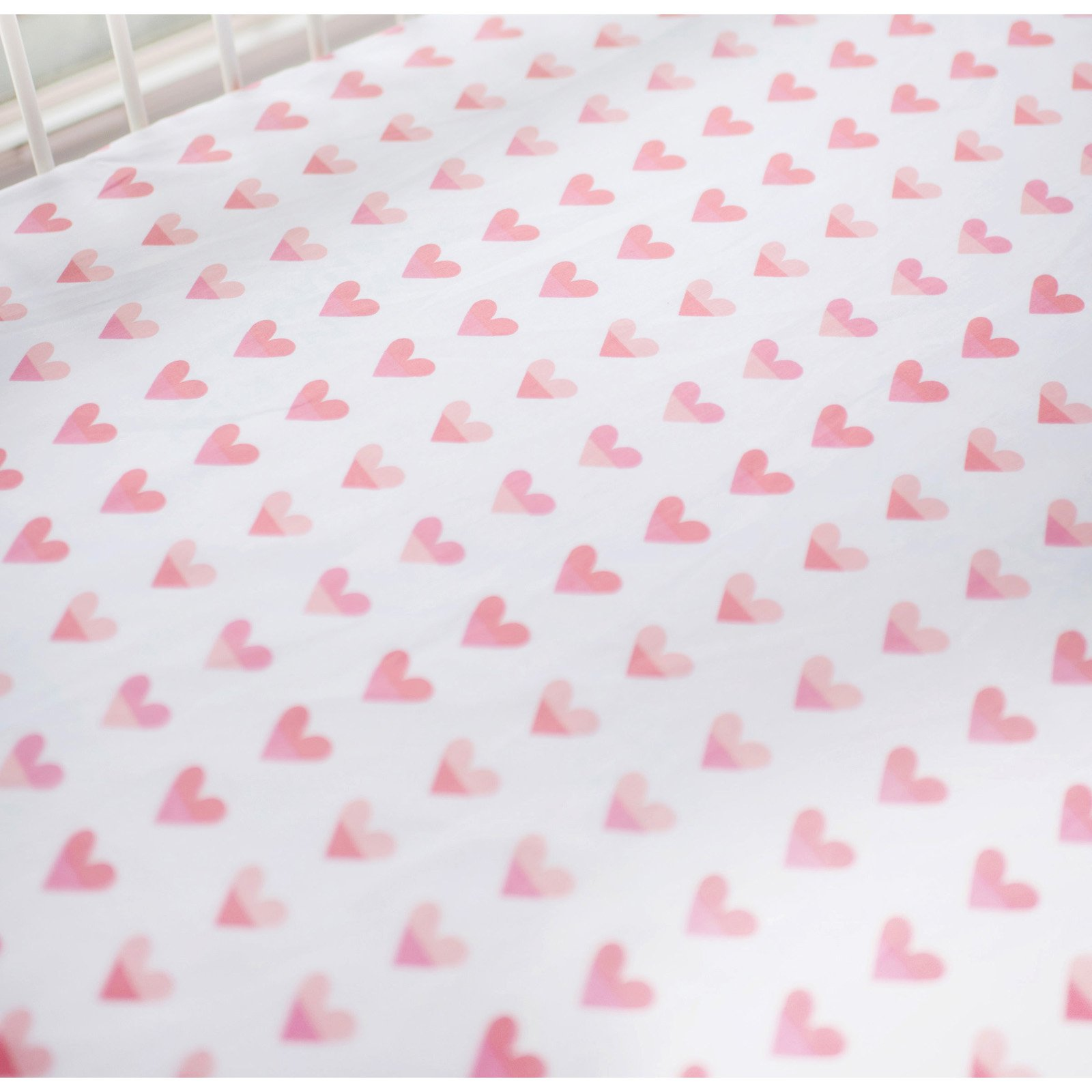 Sweethearts Crib Sheet by My Baby Sam